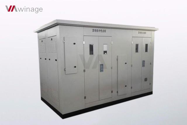 25MW发电机中性点接地电阻柜