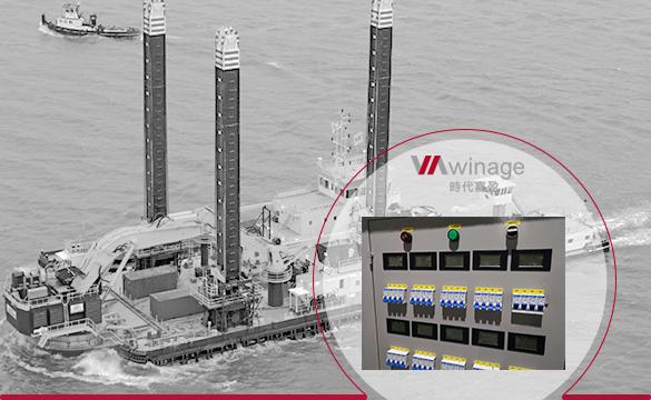 船舶电力系统大功率可调电阻箱